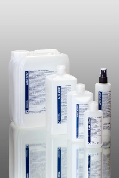 Дезинфектант за ръце и кожа на алкохолна основа AHD 2000